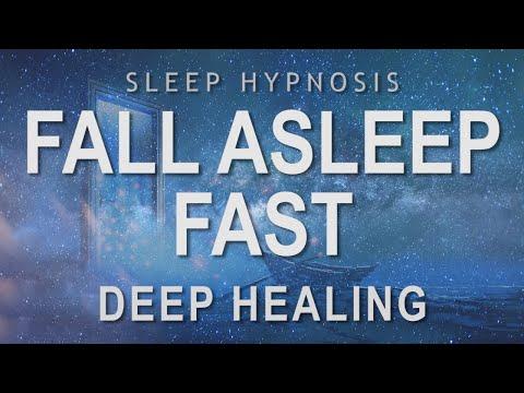 Sleep Hypnosis to Fall Asleep Fast   Deep Healing Relaxation (Guided Sleep Meditation)