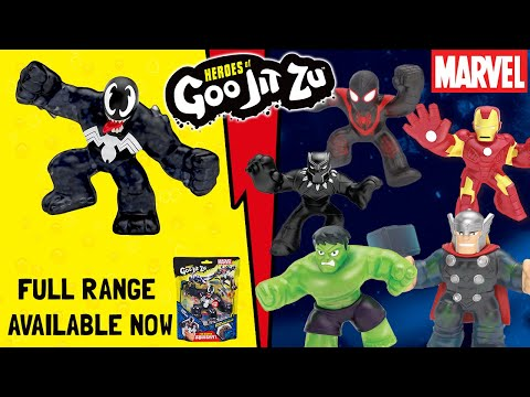 Marvel Heroes of Goo Jit Zu help mind-controlled Black Panther