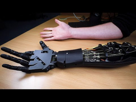 Mind-controlled prosthetic
