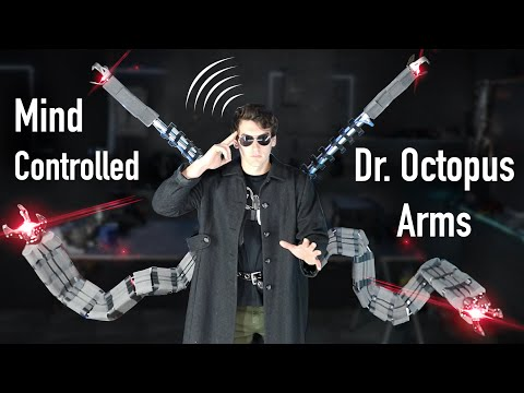 Real Mind Controlled Dr. Octopus Arms! – Super Strength!!