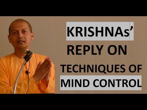 Shri Krishnas' reply on Mind Control   Swami Sarvapriyananda