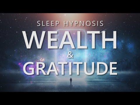 Sleep Hypnosis for Wealth and Gratitude, Prosperity Attraction, Sleep Meditation for Abundance