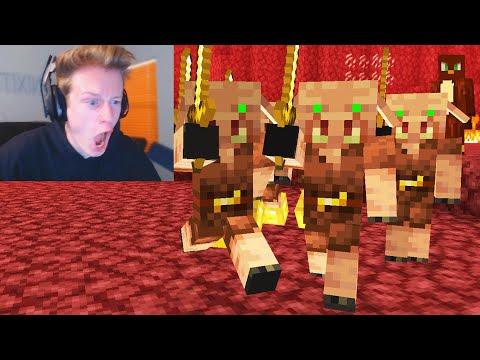I used a MIND CONTROL Mod to troll a Streamer on Minecraft…