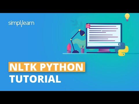 NLTK Python Tutorial   Natural Language Processing (NLP) With Python Using NLTK   Simplilearn