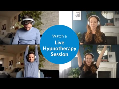 Watch a Live Hypnosis Session [WITH ME Series Part 1]